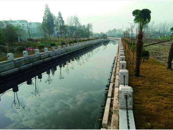 护坡石-淮安市淮安区运粮河整治工程