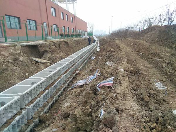 护坡石-清江浦区一支大沟工程