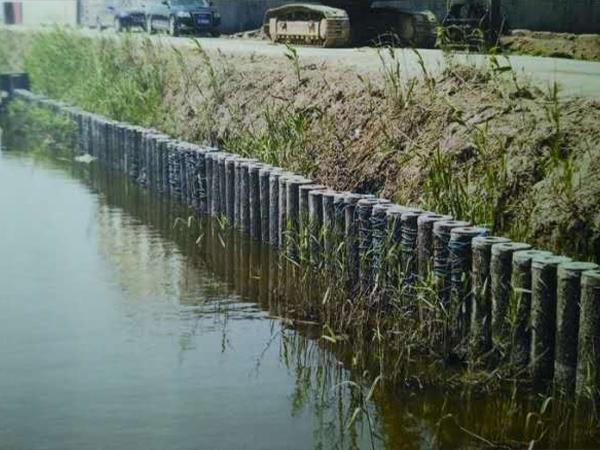 浅析河道仿木桩有哪些特点!