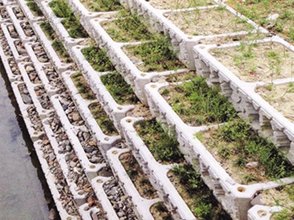 阶梯式挡墙工程